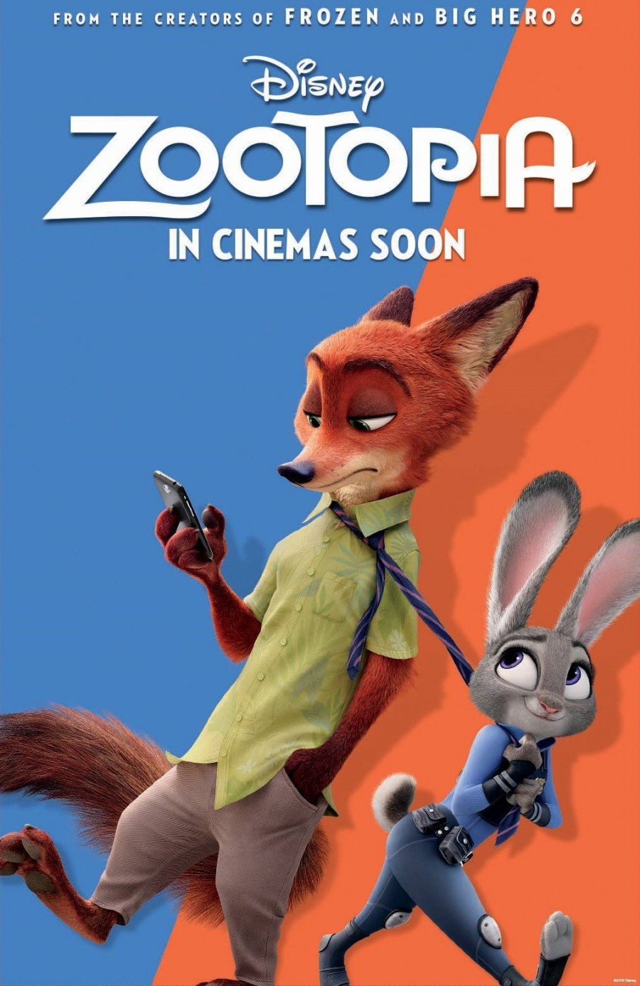 "February 26 Kid's Movie night featuring, ""Zootopia"""