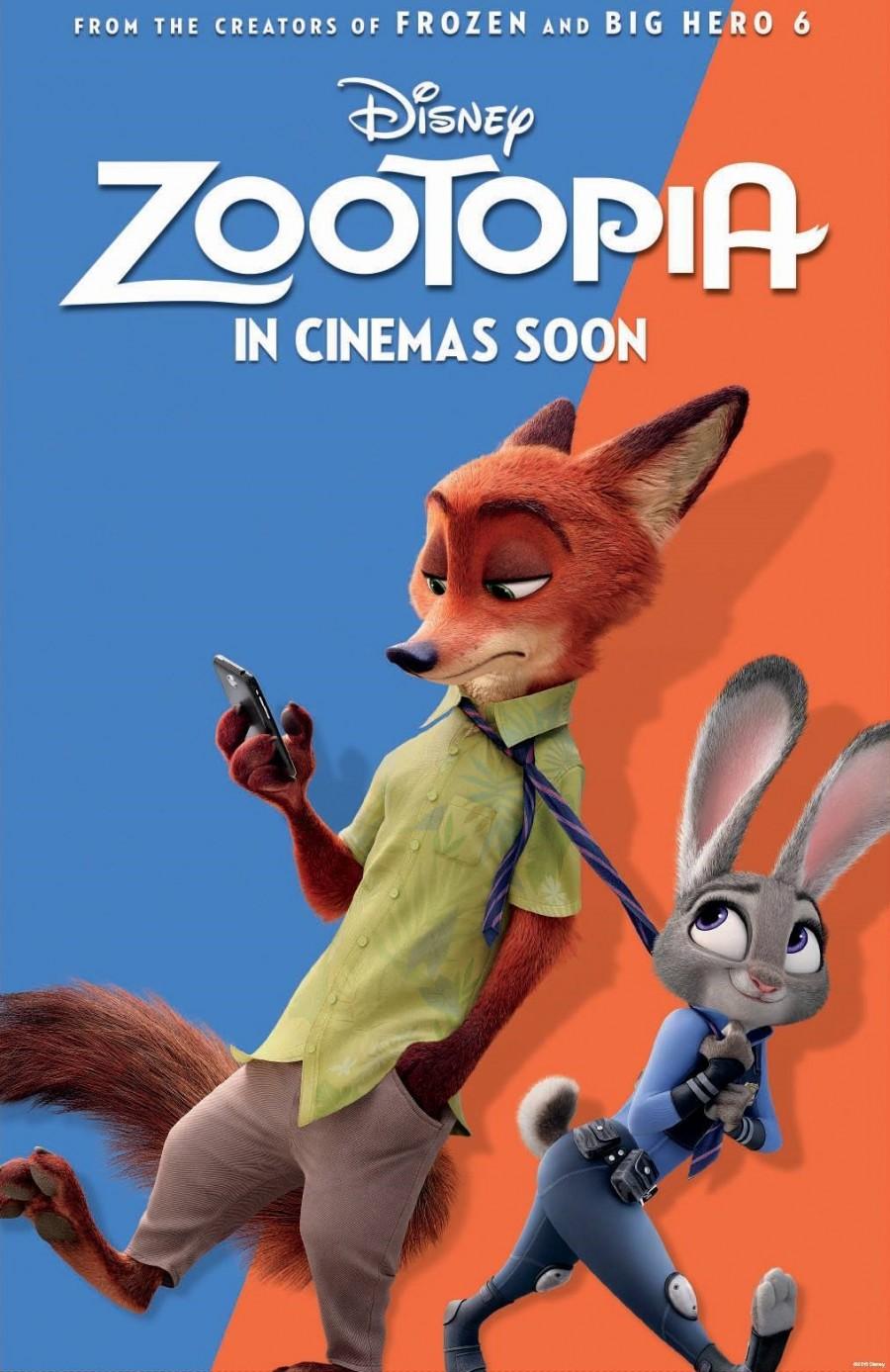 "June 26 movie night featuring ""Zootopia"""
