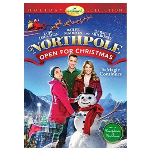 """Dec.17 – Kid's movie night featuring, """" Northpole Open for Christmas"""""""